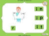 Making Words - 'in', 'ip' and 'it' (slide 12/14)