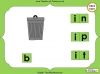 Making Words - 'in', 'ip' and 'it' (slide 6/14)