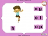 Making Words - 'og', 'ot' and 'op' (slide 10/14)