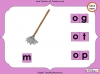 Making Words - 'og', 'ot' and 'op' (slide 12/14)