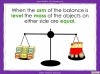Measuring Mass Using Non-Standard Units - Year 1 (slide 17/35)