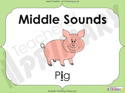 Middle Sounds - EYFS