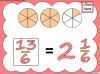 Mixed Numbers and Improper Fractions - Year 5 (slide 32/80)