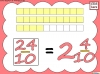 Mixed Numbers and Improper Fractions - Year 5 (slide 33/80)