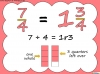 Mixed Numbers and Improper Fractions - Year 5 (slide 40/80)