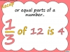 Mixed Numbers and Improper Fractions - Year 5 (slide 5/80)