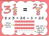 Mixed Numbers and Improper Fractions - Year 5 (slide 53/80)