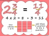 Mixed Numbers and Improper Fractions - Year 5 (slide 56/80)