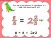Mixed Numbers and Improper Fractions - Year 5 (slide 67/80)