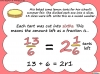 Mixed Numbers and Improper Fractions - Year 5 (slide 71/80)