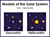 Models of the Solar System - Year 5 (slide 1/30)