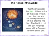 Models of the Solar System - Year 5 (slide 11/30)