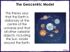 Models of the Solar System - Year 5 (slide 7/30)