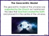 Models of the Solar System - Year 5 (slide 9/30)