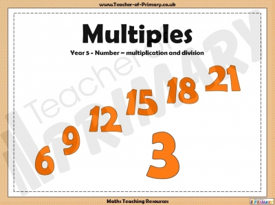Multiples - Year 5