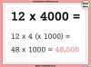 Multiples of 10, 100 and 1000 - Year 5 (slide 8/21)