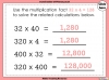 Multiples of 10, 100 and 1000 - Year 5 (slide 9/21)