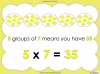 Multiply by Seven (slide 10/40)