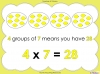 Multiply by Seven (slide 9/40)