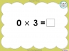 Multiply by Three (slide 21/40)