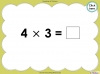 Multiply by Three (slide 25/40)