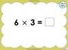Multiply by Three (slide 27/40)