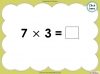 Multiply by Three (slide 28/40)