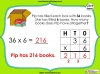 Multiplying 2-Digits by 1-Digit - Year 3 (slide 11/21)