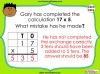Multiplying 2-Digits by 1-Digit - Year 3 (slide 13/21)