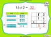 Multiplying 2-Digits by 1-Digit - Year 3 (slide 4/21)