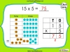 Multiplying 2-Digits by 1-Digit - Year 3 (slide 7/21)