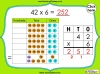 Multiplying 2-Digits by 1-Digit - Year 3 (slide 9/21)