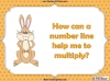 Multiplying Using a Number Line - Year 1 (slide 4/27)