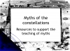 Myths of the Constellations (slide 1/68)