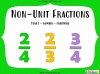 Non-Unit Fractions - Year 2 (slide 1/49)