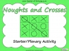 Noughts and Crosses Game (slide 1/5)