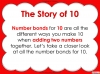 Number Bonds - The Story of 10 - Year 1 (slide 5/59)
