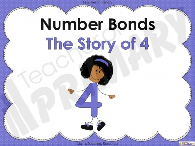 Number Bonds - The Story of 4 - Year 1