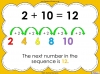 Number Sequences - Year 2 (slide 6/22)
