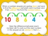 Number Sequences - Year 2 (slide 7/22)
