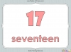 Number Words - Eleven to Twenty (slide 12/41)