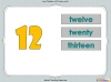 Number Words - Eleven to Twenty (slide 23/41)