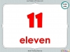Number Words - Eleven to Twenty (slide 31/41)