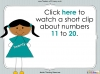 Number Words - Eleven to Twenty (slide 4/41)