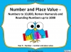 Number and Place Value - Year 5 (slide 1/59)