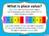 Number and Place Value - Year 5 (slide 3/59)