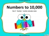 Numbers to 10,000 - Year 5 (slide 1/29)