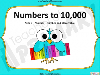 Numbers to 10,000 - Year 5