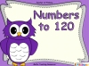 Numbers to 120 (slide 1/44)