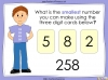 Ordering Numbers up to 1000 - Year 3 (slide 4/34)